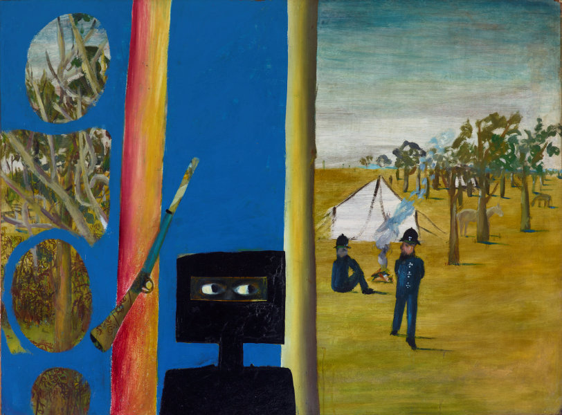 Australian Artist Painted Pictures Of Ned Kelly