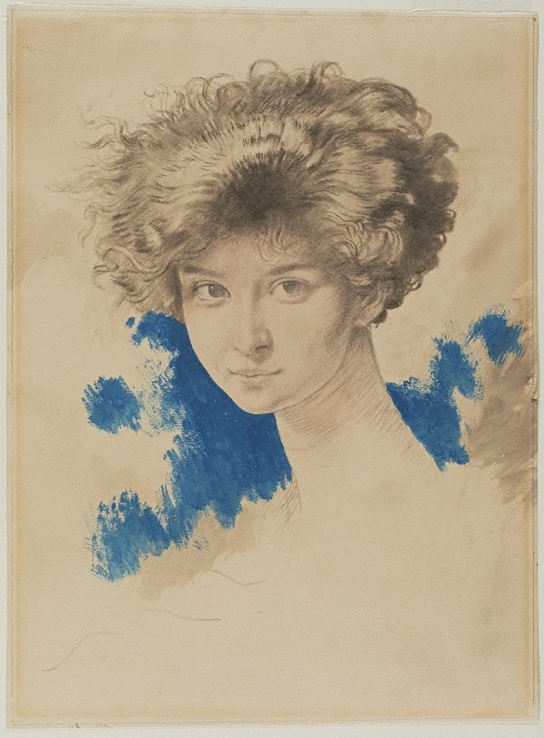 Lady evelyn beauchamp circa 1900 by sir william orpen the