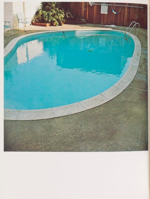 nine swimming pools and a broken glass 1968 printed 1976 by edward ruscha the collection