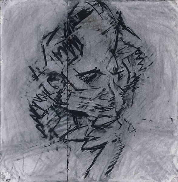 Frank Auerbach Portrait Drawings Frank Auerbachhead of