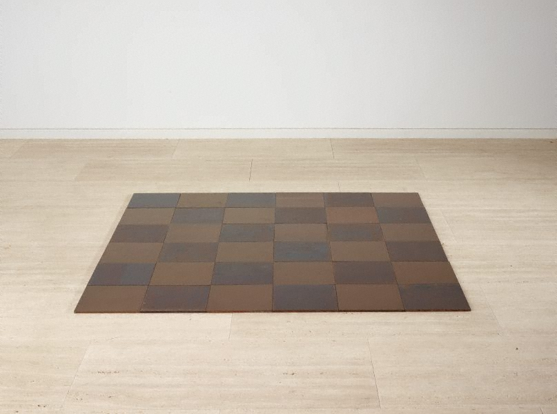 Steel-copper plain, (1969) by Carl Andre :: The Collection :: Art ...