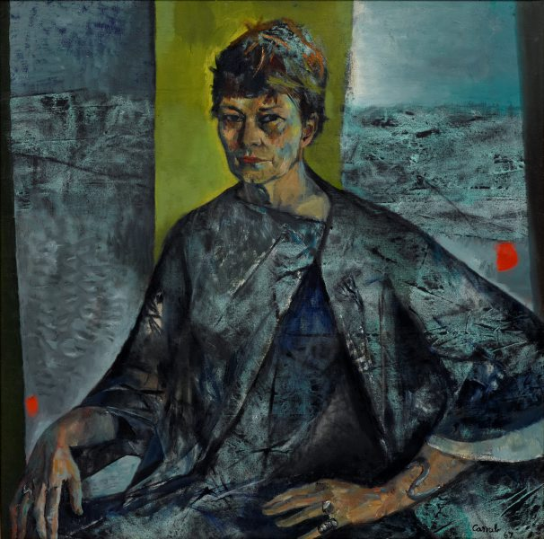 Portrait of Margo Lewers - JUDY CASSAB - Art Gallery New South Wales