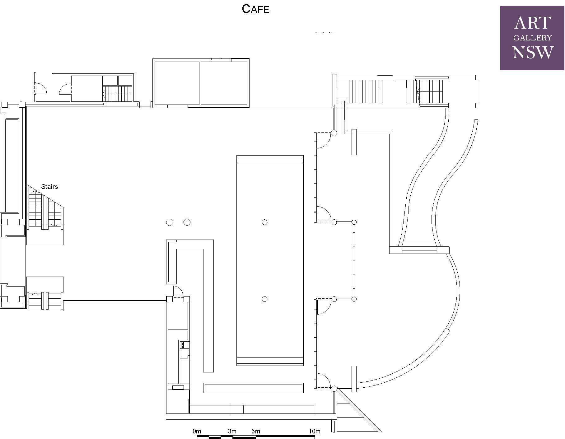 Terrace Floor Plans Cafe Courtyard Foyer Venue Hire Facilities Plan