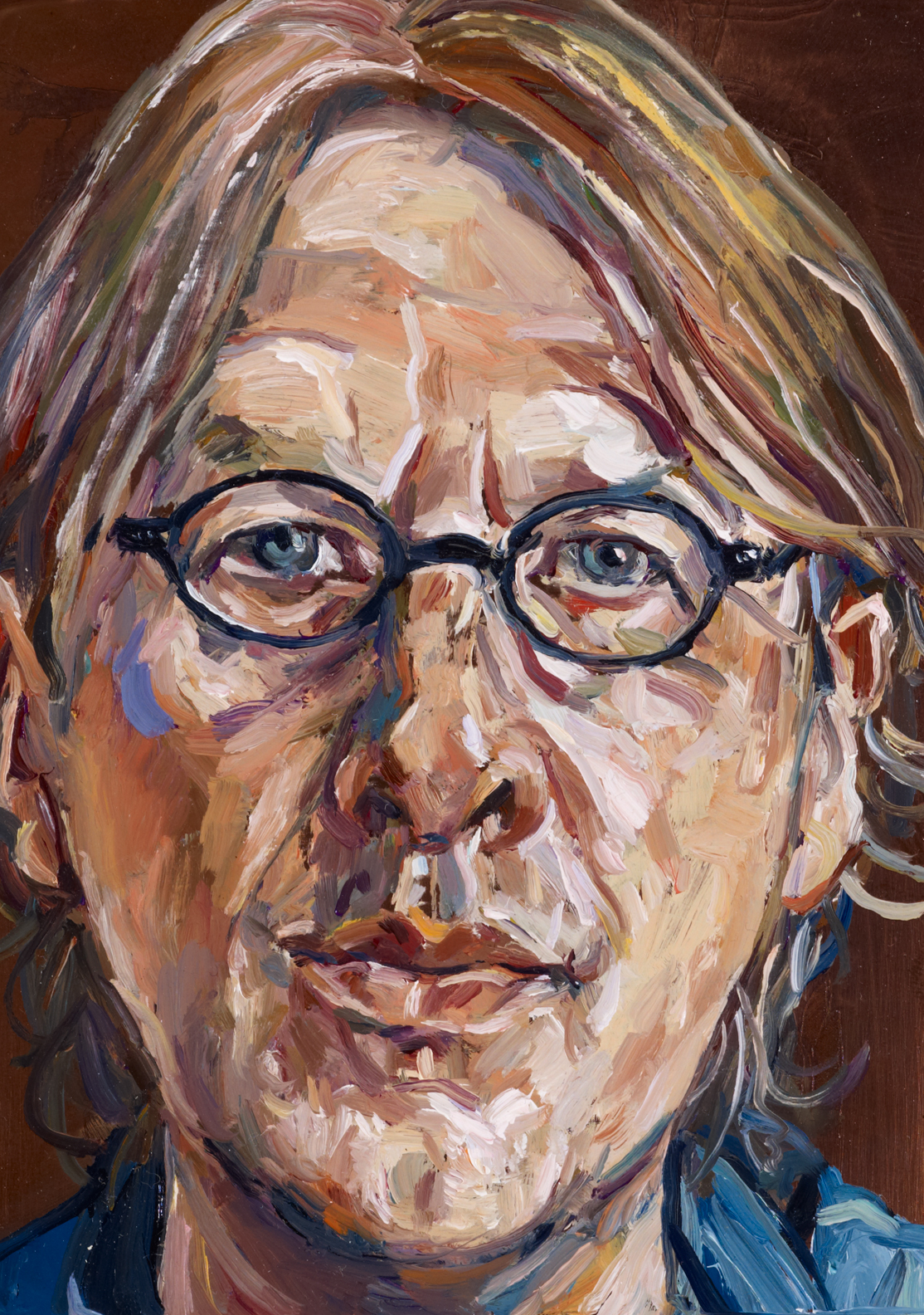 Lewis Miller: Small self-portrait :: Archibald Prize 2011