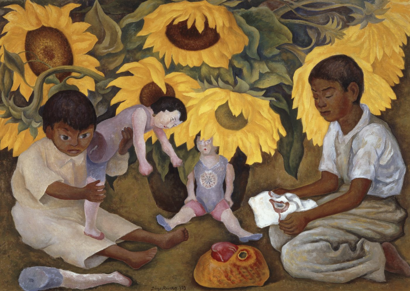 Frida kahlo and diego rivera art gallery nsw for Diego rivera s most famous mural