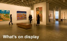 Explore what's on display in Aboriginal and Torres Strait Islander art