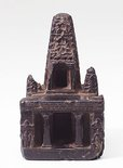 Alternate image of Model of the temple at Bodhgaya by