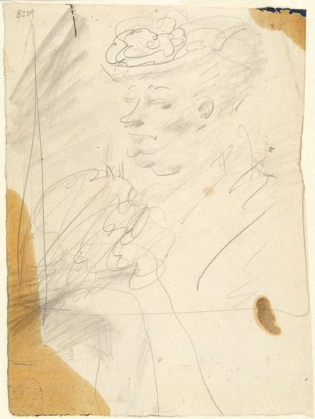An image of Study for Mrs South Kensington by William Dobell