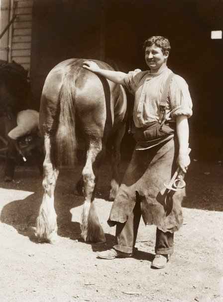 An image of Untitled (blacksmith) by Unknown, Kerry & Co