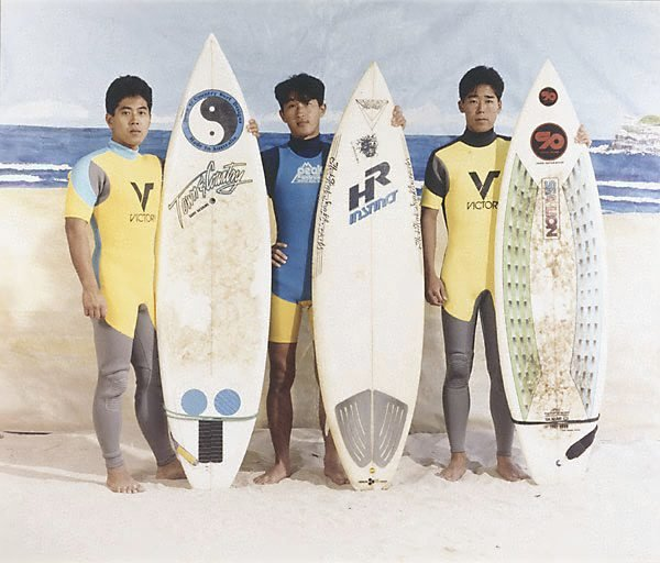 An image of The surfers