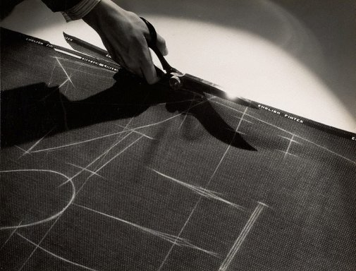 An image of Untitled (cutting English Fintex) by Max Dupain