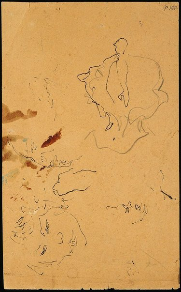 An image of (Head studies) (Late Sydney Period) by William Dobell