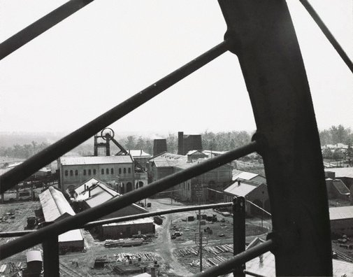 An image of Untitled (overlooking a factory) by Max Dupain