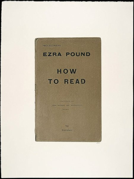 An image of How to read by R.B. Kitaj