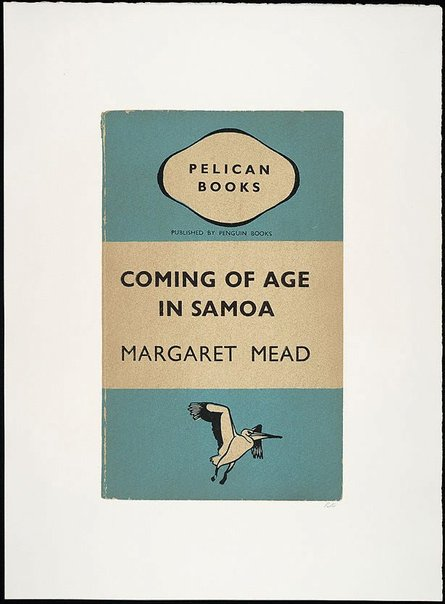 An image of Coming of age in Samoa by R.B. Kitaj