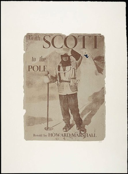 An image of With Scott to the Pole by R.B. Kitaj
