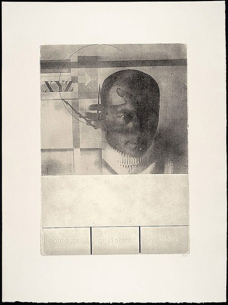 An image of XYZ - photo eye by R.B. Kitaj