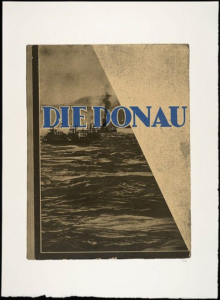 An image of Die Donau by R.B. Kitaj