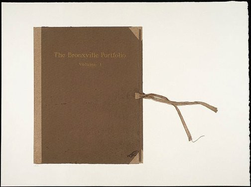 An image of The Bronxville portfolio by R.B. Kitaj