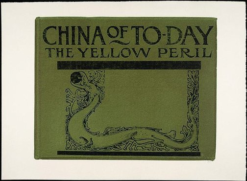 An image of China of today: the Yellow Peril by R.B. Kitaj