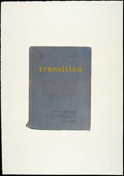 An image of Transition Act 1927 by R.B. Kitaj