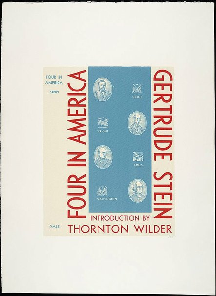 An image of Four in America by R.B. Kitaj