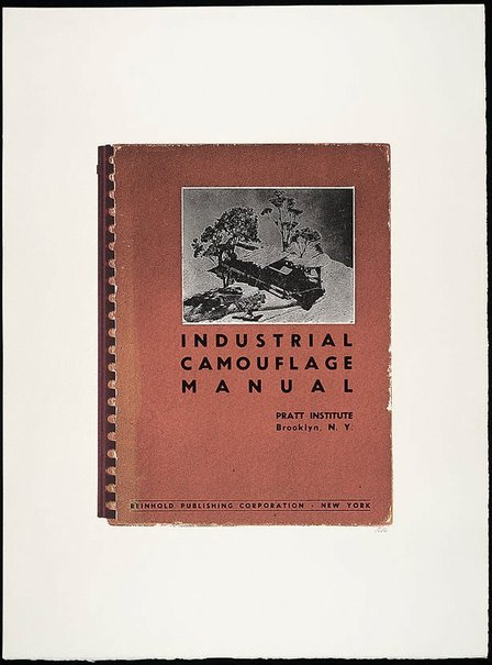 An image of Industrial cammouflage manual by R.B. Kitaj