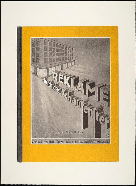An image of Reklame: durch das Schaufensten by R.B. Kitaj