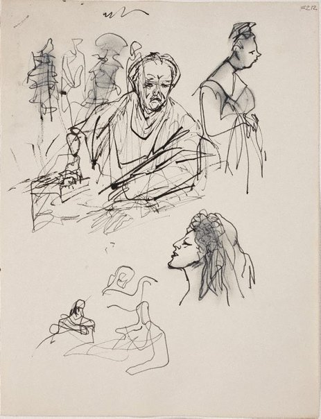 An image of (Figure studies) (Late Sydney Period) by William Dobell