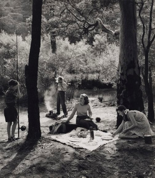 An image of Untitled (picnic) by Max Dupain