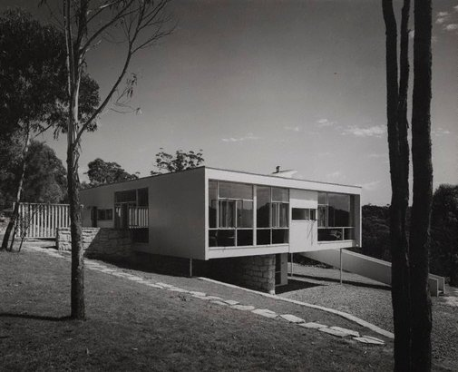 An image of Untitled (Rose Seidler's house at Wahroonga) by Marcell Seidler