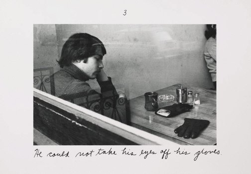An image of The pleasures of the glove by Duane Michals