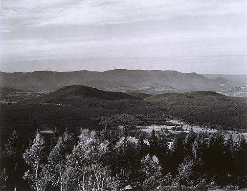 An image of View south from Tumorrama Mountain, Bondo State Forest by Peter Elliston