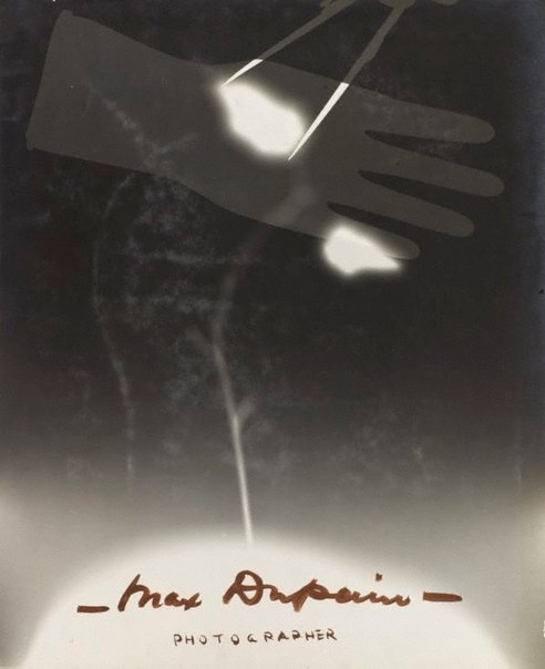 An image of Title page (hand and compass photo-montage) by Max Dupain