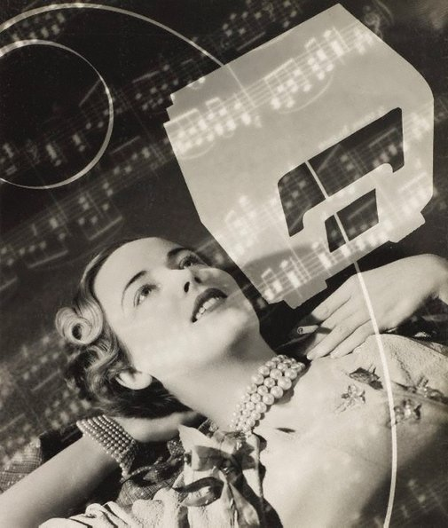 An image of recto: Untitled (wireless photo-montage) verso: Untitled (brandy bowl) by Max Dupain