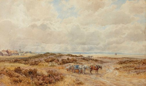 An image of On the south coast, Hastings by Augustus Walford Weedon