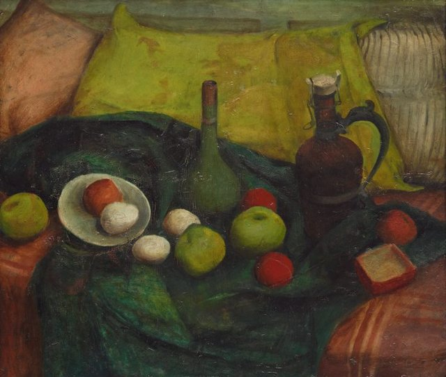 An image of Still life in green