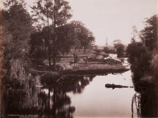 An image of On Broughton Mill Creek near Berry by Unknown, NSW Government Printer
