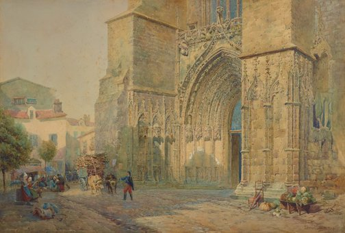 An image of Cathedral of Saint-Pierre, Saintes by Lennard Lewis