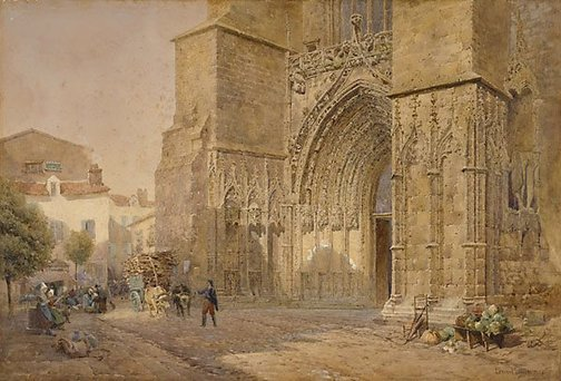 An image of Cathedral of Saints, Charente by Leonard Lewis