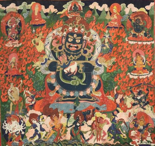 An image of Mahakala by