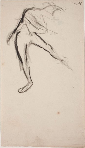 An image of (Figure study of a dancer) (Late Sydney Period) by William Dobell
