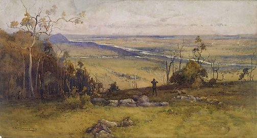 An image of Jervis Bay and Shoalhaven River, New South Wales by A Henry Fullwood