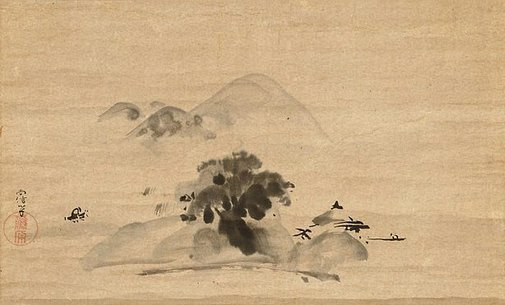 An image of Landscape by Kanô NAONOBU