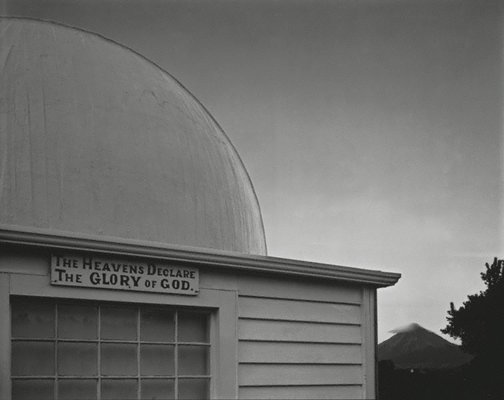 An image of Taranaki (The Heavens Declare the Glory of God), New Plymouth, 14 May 1986 by Laurence Aberhart