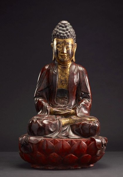 An image of Seated Buddha by Unknown