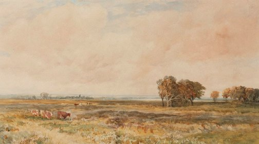 An image of Sandpit Common by Edmund Morison Wimperis