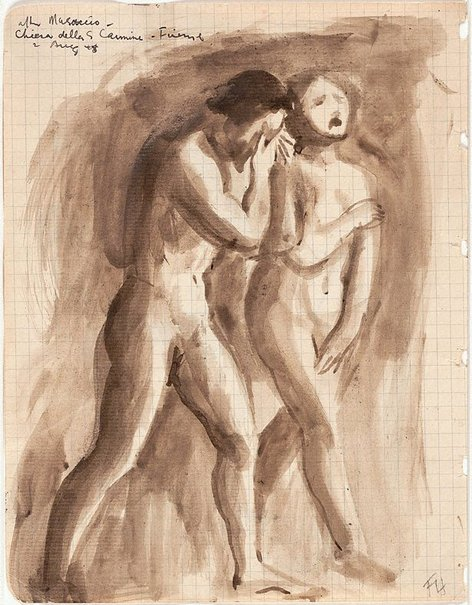 An image of After Masaccio by Frank Hodgkinson