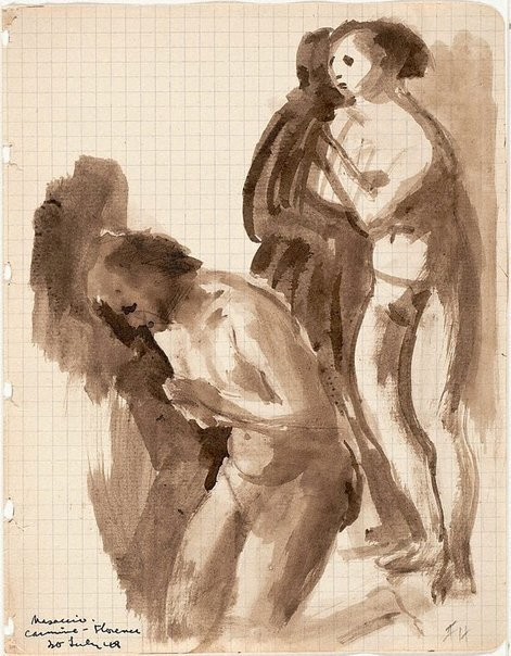 An image of Masaccio by Frank Hodgkinson