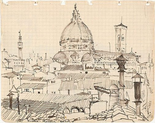 An image of Duomo, Florence by Frank Hodgkinson